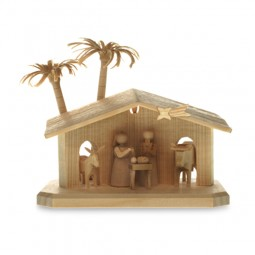 Heilige Familie, Miniaturkrippe