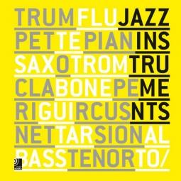 Jazz Instruments, Fotobildband inkl. 8 CDs, (Deutsch, Englisch)