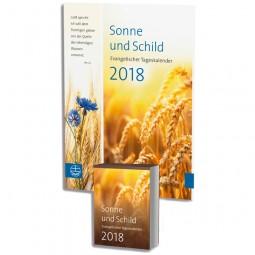 Sonne und Schild 2018 (Abreißkalender mit Rückwand)