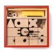 Spiele- und Sinnesbox, rot
