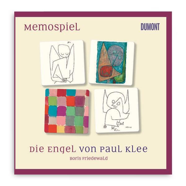 Memospiel Die Engel von Paul Klee