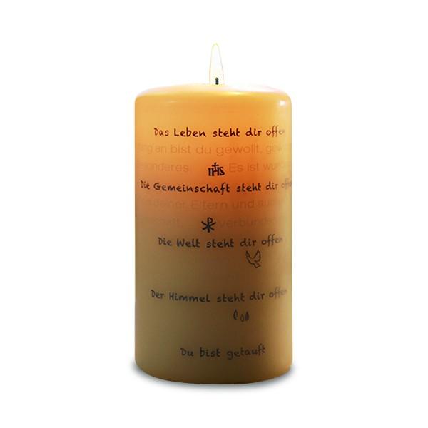 Du bist getauft, Wortlicht-Kerze