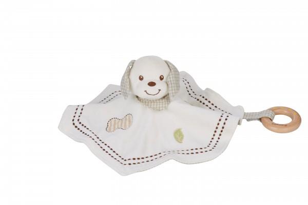 Schnuffel- und Knuffeltuch Hund