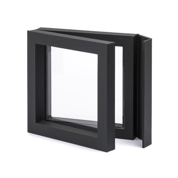 3D-Rahmen, 10 x 10, schwarz