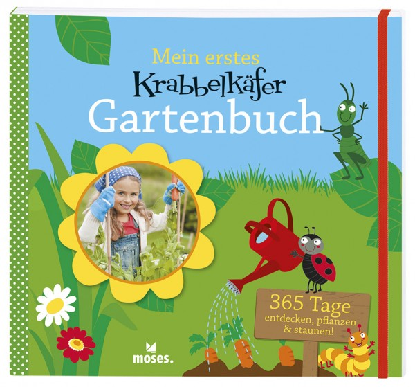 Mein erstes Krabbelkäfer Gartenbuch für Kinder