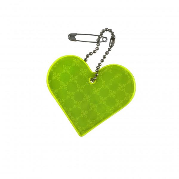 Herz- Reflektor- Anhänger