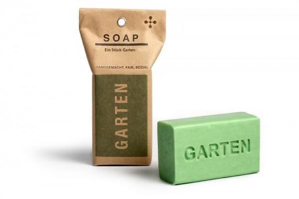 Geschenkseife Garten