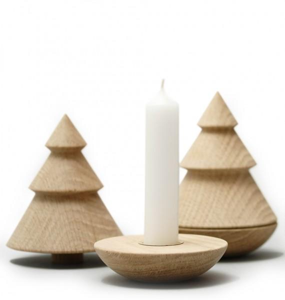 OH! O Tannenbaum-Kerzenständer und Baum