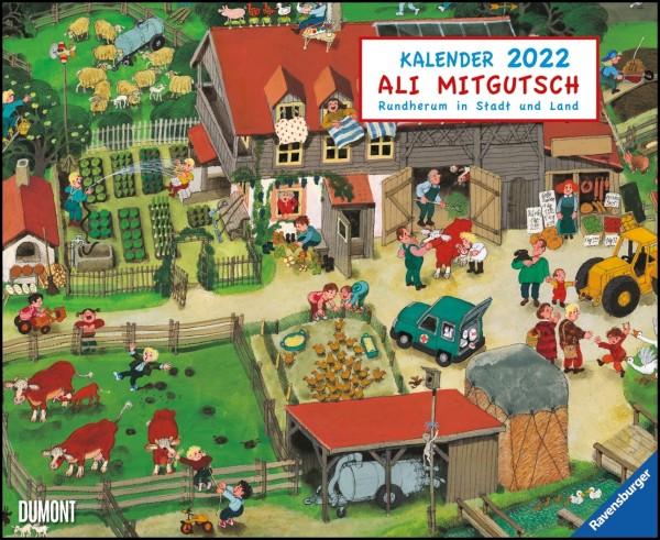 Ali Mitgutsch Kalender 2022