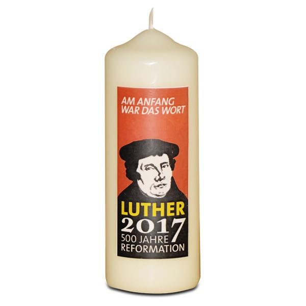 Kerze Reformationsjubiläum, groß