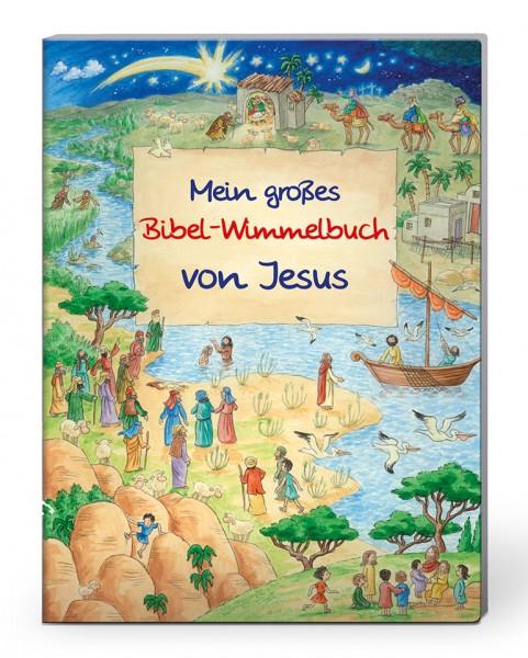 Mein grosses Bibel-Wimmelbuch von Jesus