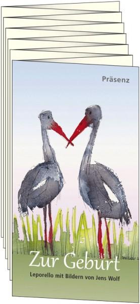Präsenz Verlag: Zur Geburt Leporello 9783945879634