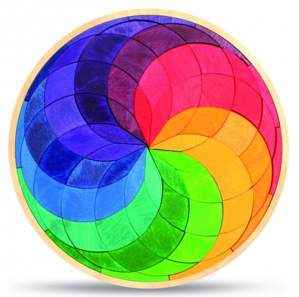 Legespiel Farbspirale, klein