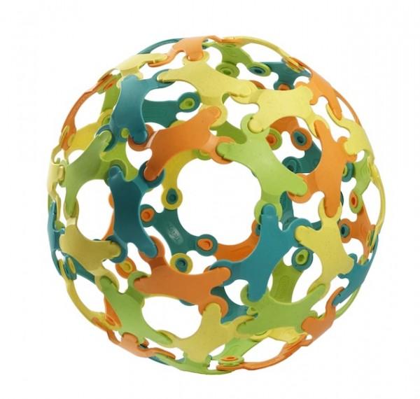 Binabo Konstruktionsspiel, 60 Chips, 4 Farben