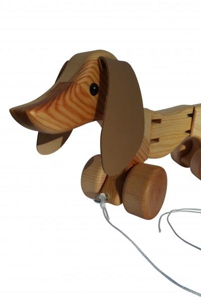 Wackeldackel-Holzspielzeug