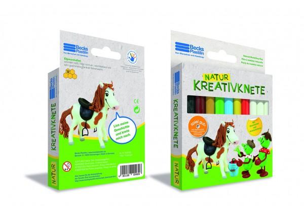 Natur-Kreativknete Pony Feja