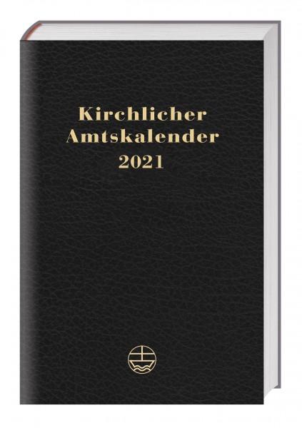 Kirchlicher Amtskalender 2021 (schwarz)