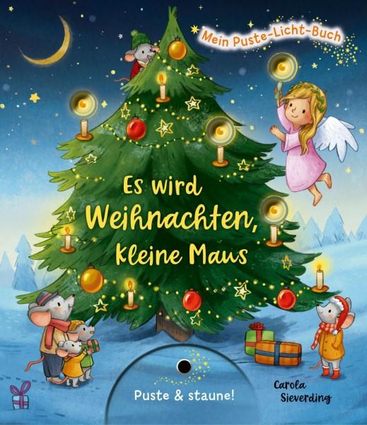 Christina Nömer, Marina Rachner:Mein Puste-Licht-Buch - Es wird Weihnachten, kleine Maus, ISBN: 978 3 480 23653-4
