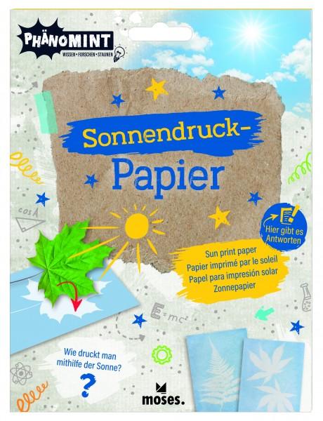 Sonnendruck-Papier