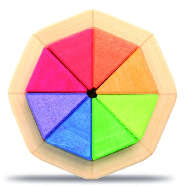 Legespiel 8-Eck, klein