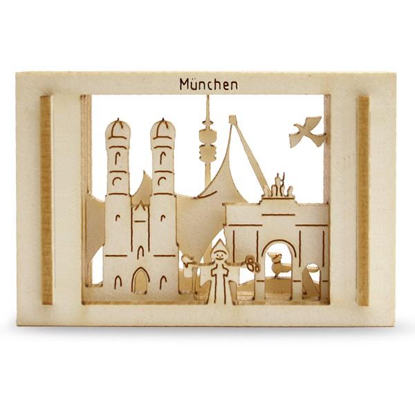 Mini-München in der Streichholzschachtel