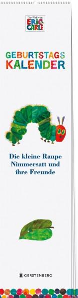 Die kleine Raupe Nimmersatt - Geburtstagskalender