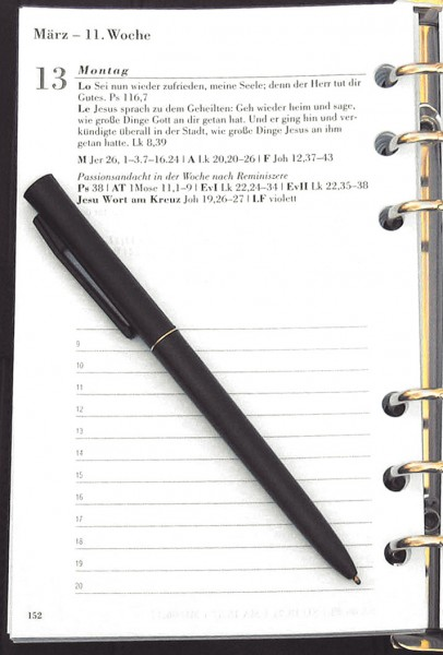 Kirchlicher Amtskalender: Ringbucheinlage 2020; 978-3-374-05719-1