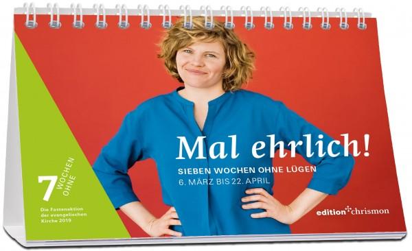 edition chrismon Mal ehrlich! Sieben Wochen ohne Lügen. Wochenkalender 207353