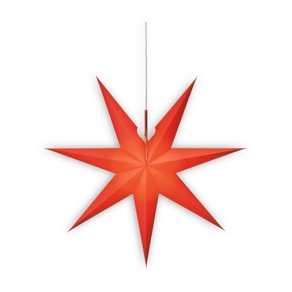 Erzgebirgischer Fensterstern, rot
