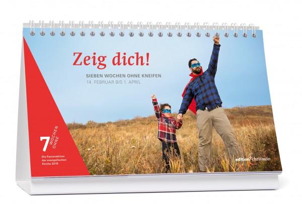 978-3-96038-115-0; Tagestischkalender-7-Wochen-Ohne-2018