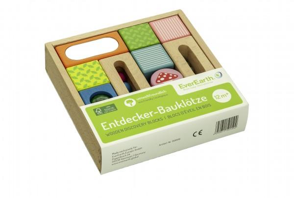 ENTDECKER-BAUKLÖTZE aus FSC- Buchenholz