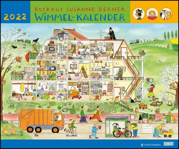 Wimmel-Kalender Rotraut Susanne Berner 2022