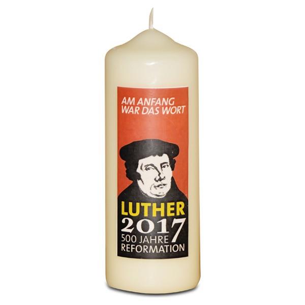 Kerze Reformationsjubiläum, klein