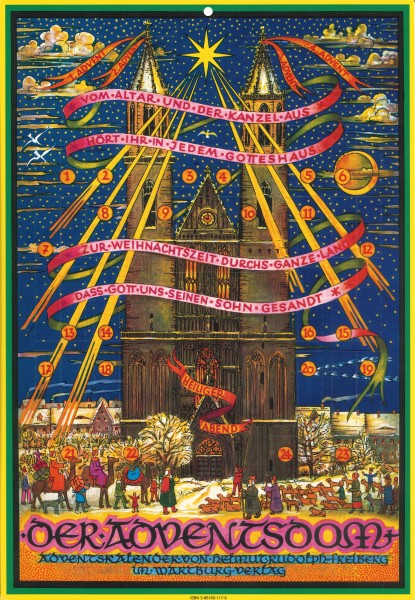 "Helmut Rudolph: Adventskalender ""Der Adventsdom"" 978-3-86160-117-3"