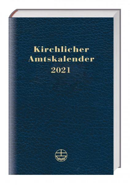 Kirchlicher Amtskalender 2021 (blau)