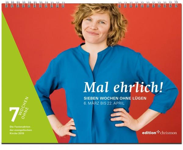 Mal ehrlich! Sieben Wochen ohne Lügen. Tageswandkalender ISBN: 978-3-96038-170-9