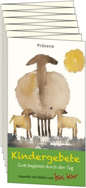 Präsenz Verlag: Kindergebete Leporello 9783945879672