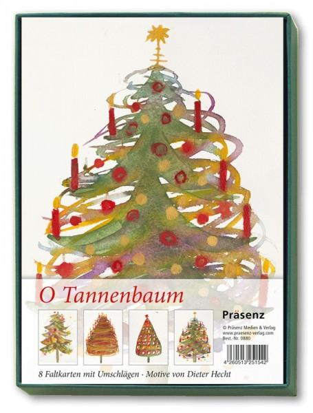 Präsenz Verlag: O Tannenbaum Kunstkarten-Box 4260513251542