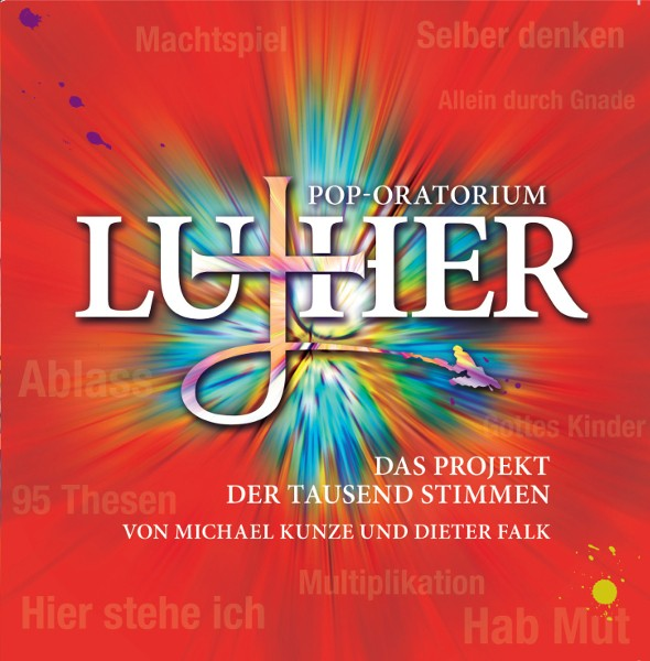 Pop-Oratorium Luther, 2CDs