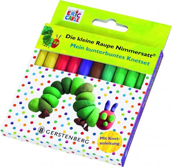 Die kleine Raupe Nimmersatt - Mein kunterbuntes Knetset