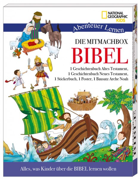 National Geographic KiDS: Die Mitmachbox Bibel