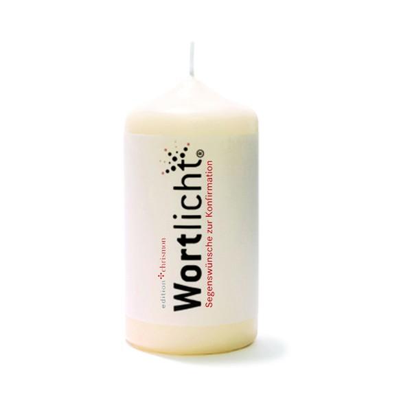 Segenswünsche zur Konfirmation, Wortlicht-Kerze