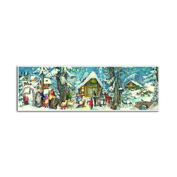 """Großer Panorama-Adventskalender """"Waldweihnacht"""""""