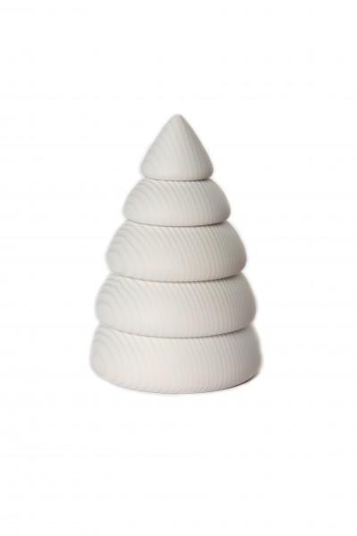 Winterbaum, weiß, 11,5 cm