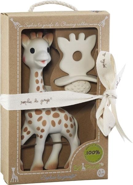 Sophie la girafe® + 1 Schnuller/Zahnungshilfe SO'PURE