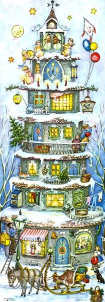 """Panorama-Adventskalender """"Der Weihnachtsturm"""""""