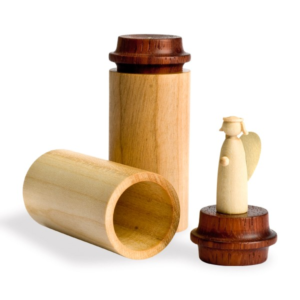 Uwe Uhlig, Engel für unterwegs aus Holz